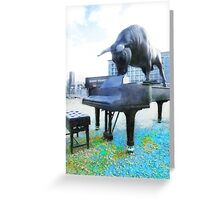 A World of Art and Music Greeting Card