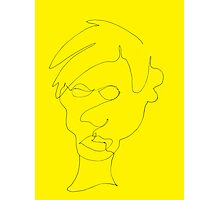 Warhol, A Portrait Photographic Print