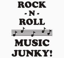 Rock N Roll Junky 10BLA Kids Clothes