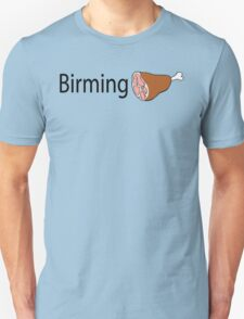 Birmingham Black text T-Shirt