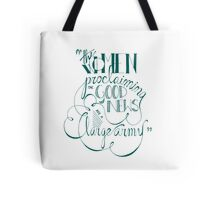 The Women Proclaiming The Good News Tote Bag