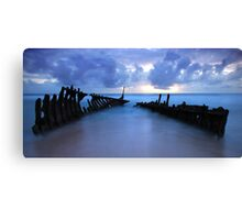 SS Dicky Canvas Print