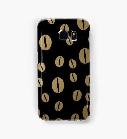 Black coffee Samsung Galaxy Case/Skin