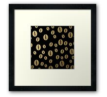 Black coffee Framed Print