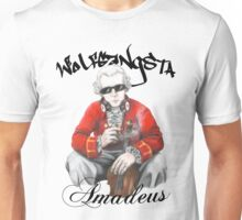 Wolfgangsta Amadeus (black writing) Unisex T-Shirt
