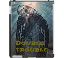 double trouble iPad Case/Skin
