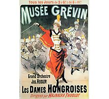 Vintage poster - Musee Grevin Photographic Print