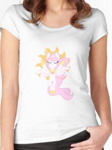Little Solar Princess Women's Fitted Scoop T-Shirt
