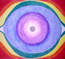 Mandala - Third Eye by Janette Oakman