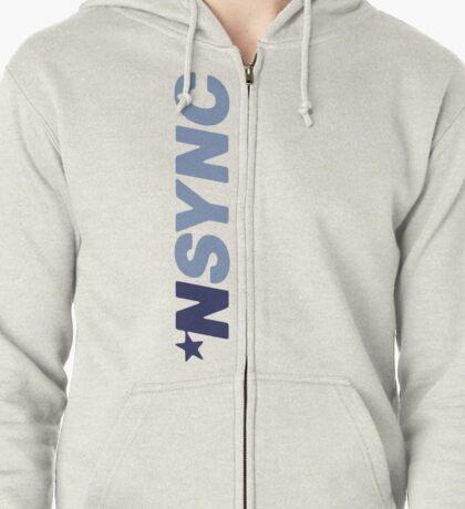 Nsync Hoodie Design Zipped Hoodie