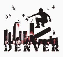 denver skateboarding by maydaze