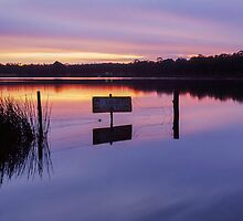 Storm King Dam Sunrise I by Martin Canning