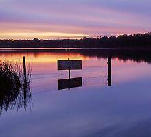 Storm King Dam Sunrise I by Martin Canning