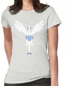 Silver Soul [Borderless] Womens Fitted T-Shirt
