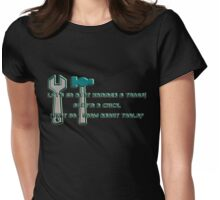 hammer & tongs Womens Fitted T-Shirt