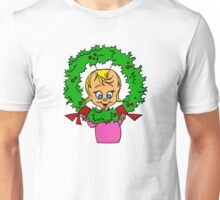 Cindy Lou Wreath Unisex T-Shirt