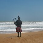 Lone Piper by Country  Pursuits