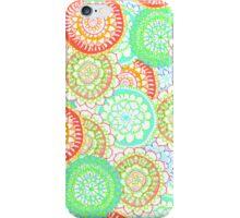 Pastel Pattern Frenzy iPhone Case/Skin