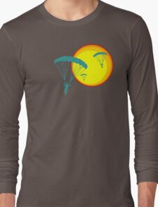 sun sky dive Long Sleeve T-Shirt