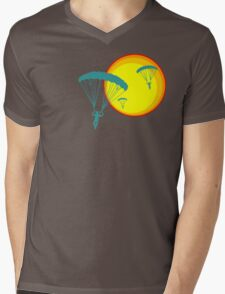 sun sky dive Mens V-Neck T-Shirt