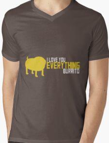 Everything Burrito - Jake the Dog Mens V-Neck T-Shirt