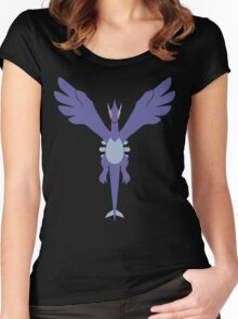 Shadow Soul [Borderless] Women's Fitted Scoop T-Shirt