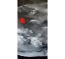 Red Balloon Photographic Print