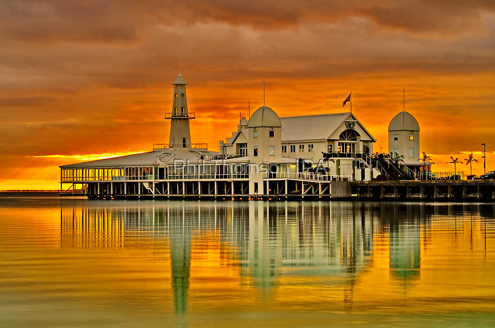 """""""Golden Dawn At The Pier"""" by Phil Thomson IPA"""
