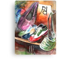 Italy - Italian Shoes 01 Canvas Print