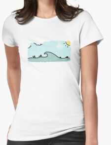 Perfect Day Womens Fitted T-Shirt