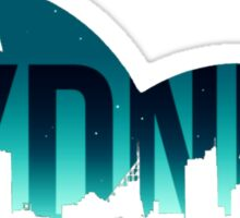 Sydney Skylines Sticker