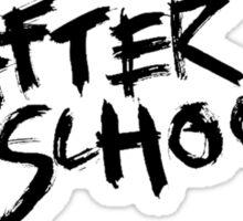 After School Logo Sticker