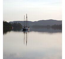Dreamy Morn, Soft Light (Johnstone River, Innisfail, Qld. AU) Photographic Print