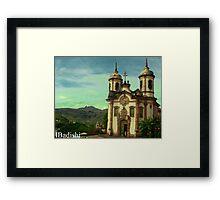 São Francisco de Assis Church, Ouro Preto, Brazil Framed Print