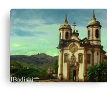 São Francisco de Assis Church, Ouro Preto, Brazil Canvas Print