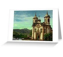 São Francisco de Assis Church, Ouro Preto, Brazil Greeting Card