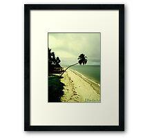 Paradise Island, Pernambuco, Brazil Framed Print