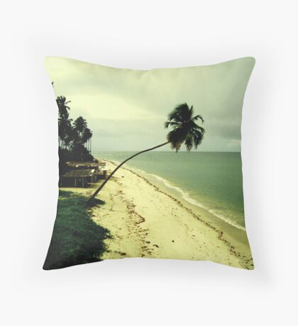 Paradise Island, Pernambuco, Brazil Throw Pillow