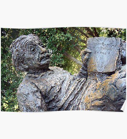 Albert Einstein Memorial Poster