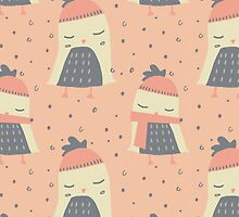 Cozy Penguins by limegreenpalace
