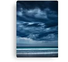 Threatening Skies Canvas Print