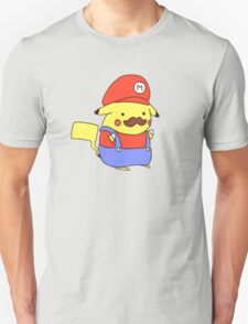 Pikachu/Mario Unisex T-Shirt