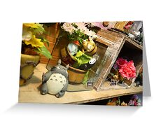 Totoro shop Greeting Card