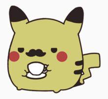 Fancy Pikachu Moustache by gentlebrah