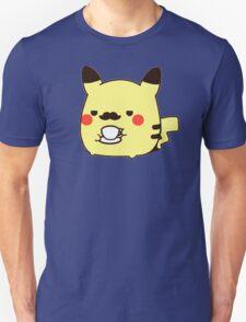 Fancy Pikachu Moustache T-Shirt