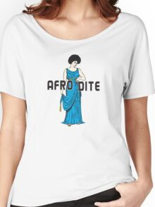 Afro Dite Women's Relaxed Fit T-Shirt