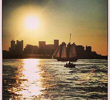 Boston's Beautiful Sky by Trippy Publishing