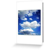 Sky Fluff Greeting Card