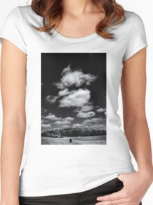 Rural Summer Women's Fitted Scoop T-Shirt