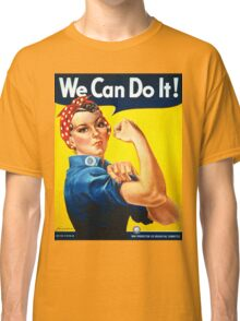 Vintage poster - Rosie the Riveter Classic T-Shirt